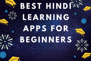 Best Hindi Learning apps for Beginners